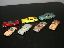 LOT OF VINTAGE DINKY ENGLAND DIE CAST MODEL CARS
