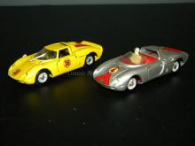 LOT OF 2 MERCURY INTALY DIE CAST MODEL CARS
