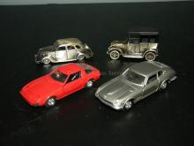 LOT OF4 YONEZAWA DIAPET DIE CAST MODEL CARS