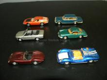 LOT OF GAMA GERMANY DIE CAST MODEL CARS