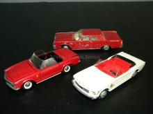 LOT OF 3 TEKNO DENMARK DIE CAST MODEL CARS