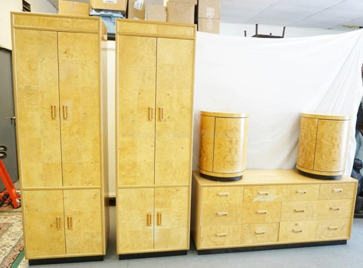 Scene Two By Henredon 5 Pieces Of Bedroom Furniture 2 Ta