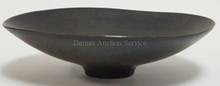 SWEDISH ART POTTERY BOWL BY CARL-HARRY STALHANE. 11 1/2 IN