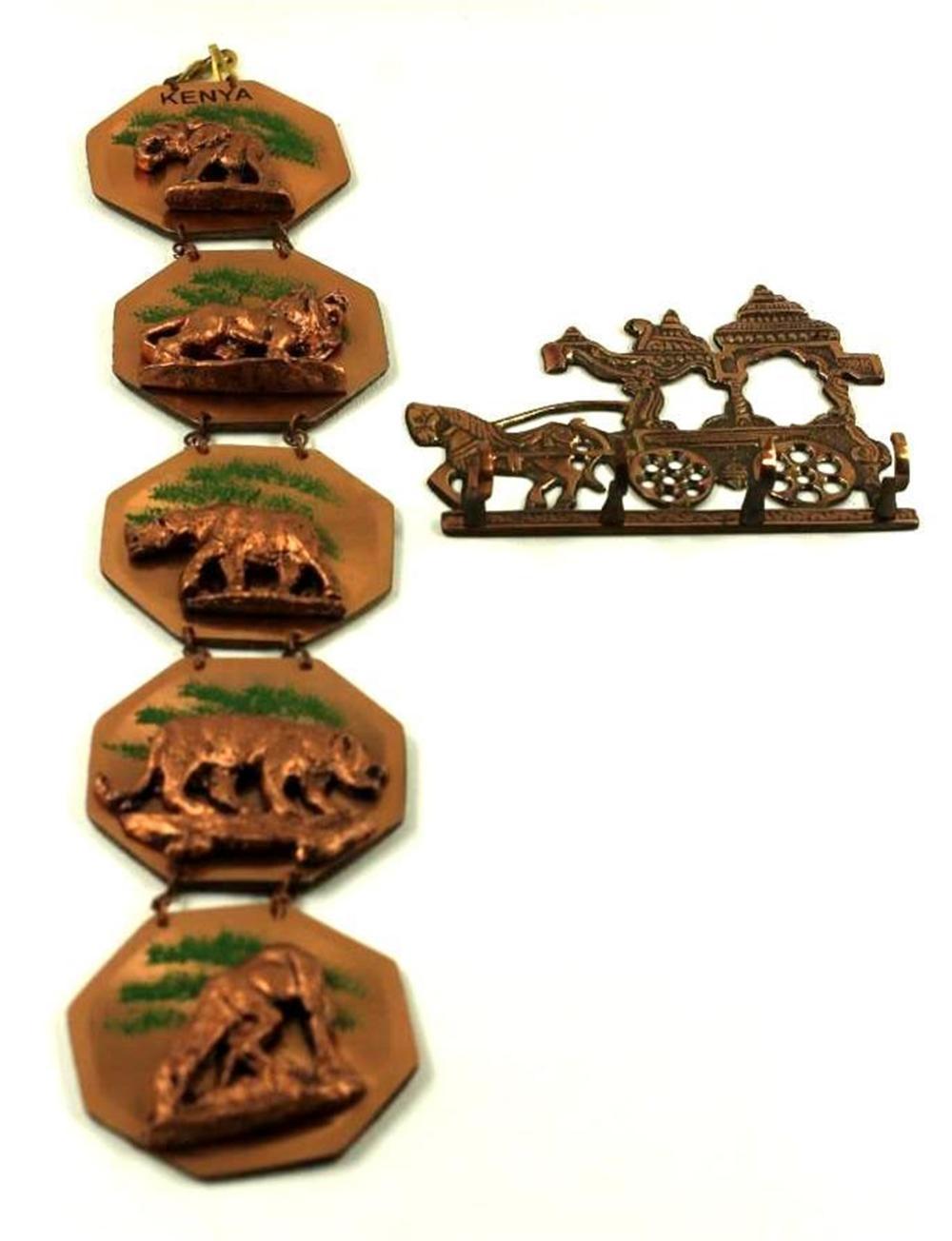 Copper Key Holder and Kenya Souvenir