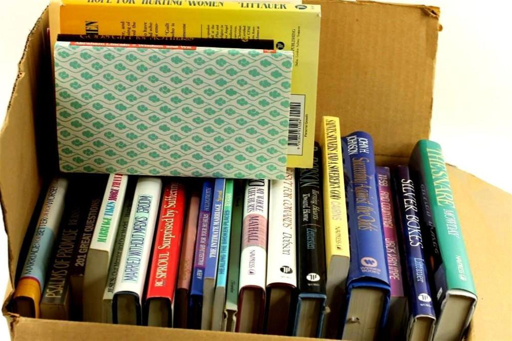 Lot of Books, Mostly Self-Help