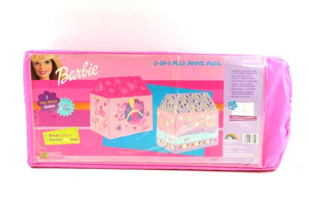 Barbie 2-in-1 Play House Pack