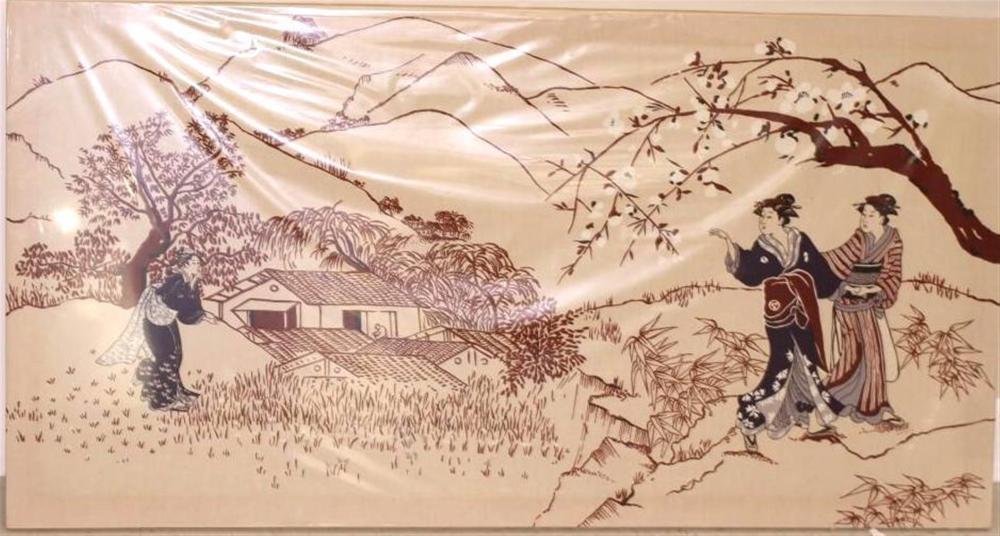Asian Inspired Wall Art
