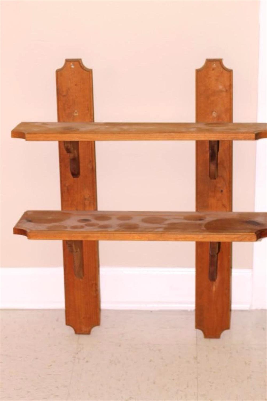 Small Wooden Wall Shelf
