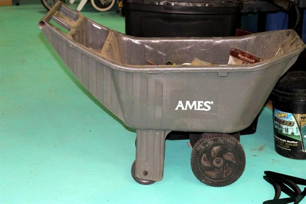 Ames Wheelbarrow w/ Misc Metal