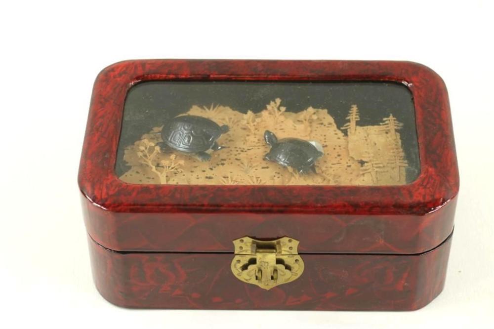 Turtle Jewelry Box