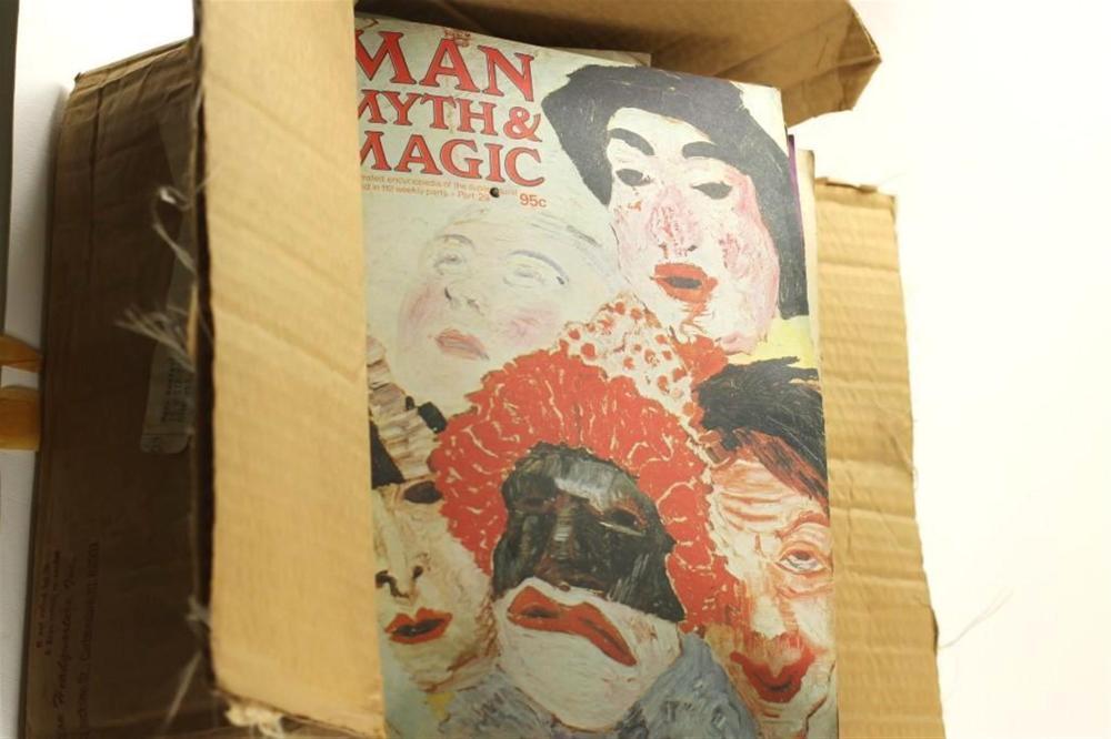 Large Lot of Vintage Magazines, Mostly Man, Myth, and Magic