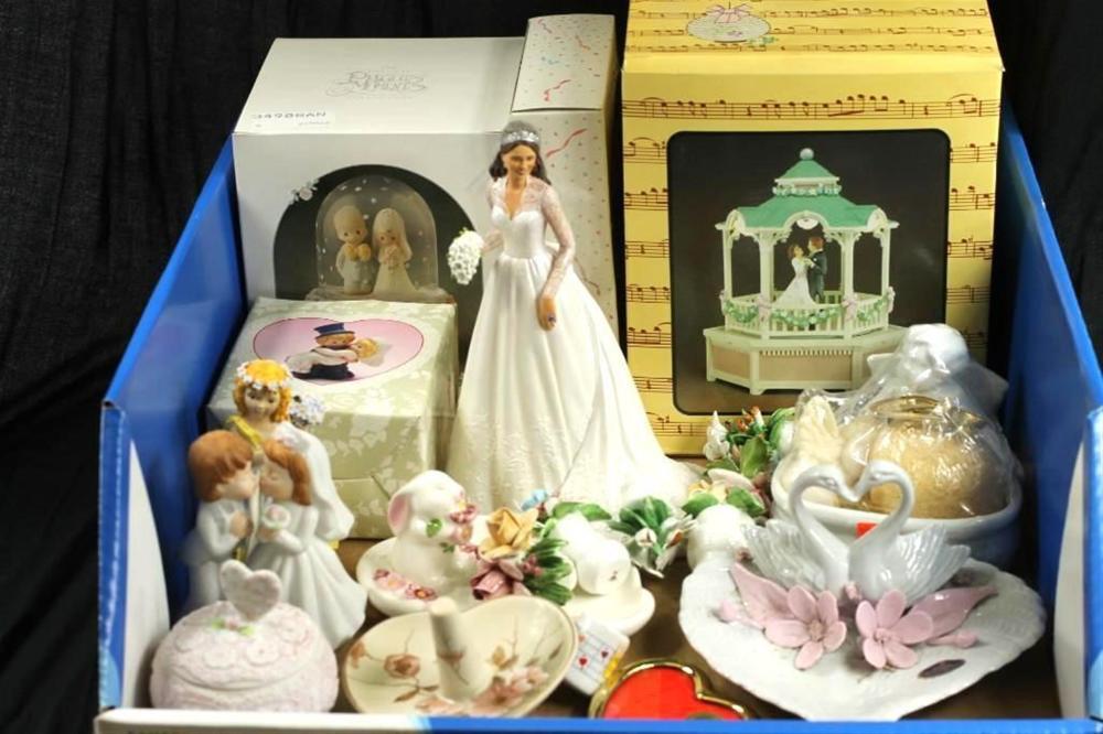 Wedding Figurine Lot incl Precious Moments