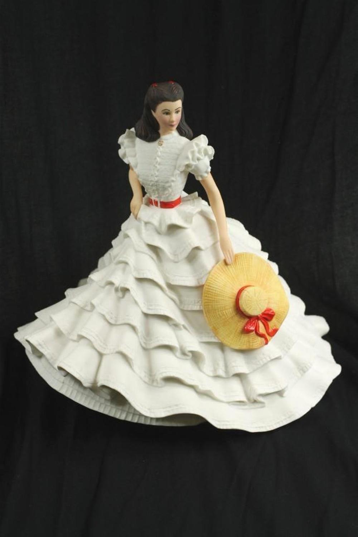 Franklin Mint Scarlette O'Hara 1987 Figurine