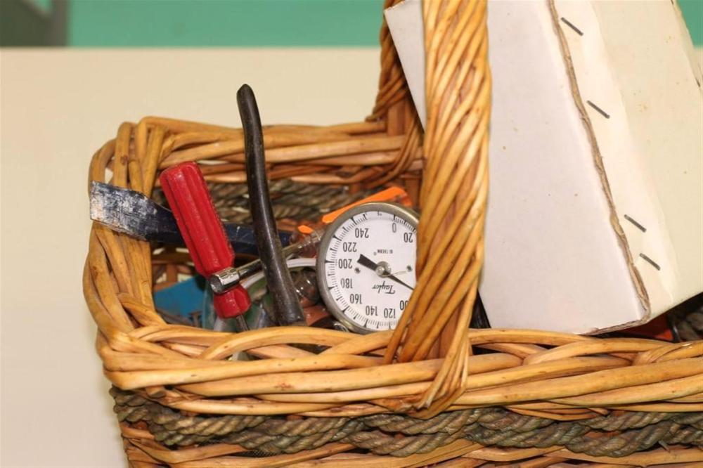 Basket of Hand Tools