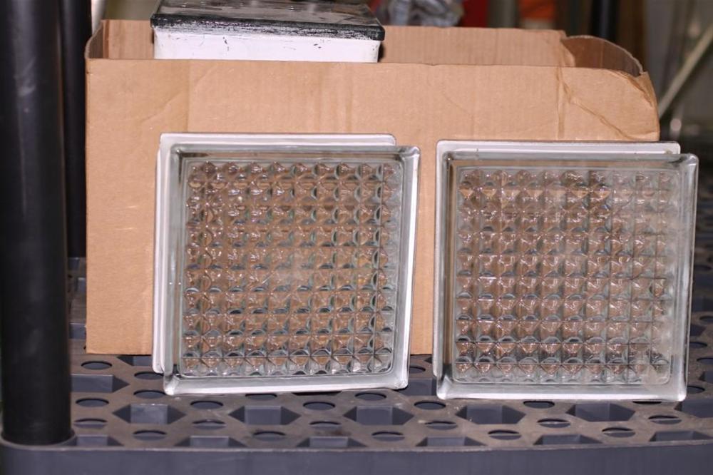 Box of 10 Glass Blocks