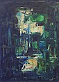 Ken Moore Untitled Oil on canvas 56 c 41 cm Signed