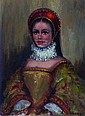 Gudrun Sibbons Portrait of a Lady Mixed media on