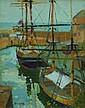 Eric Ward Autumn at Charlestown Oil on board 26 x