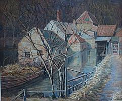 E.Oughtred Buchanan (1883-1975) Peggy O'Mill