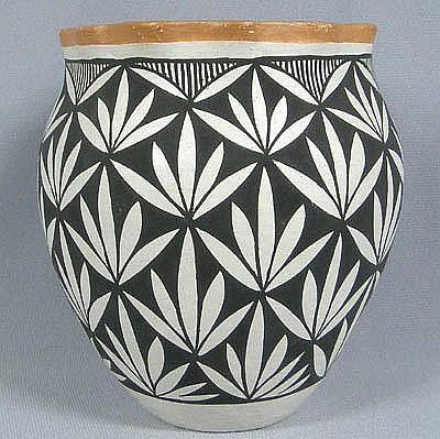 Acoma Pottery Signed S Phillips