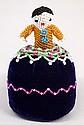 Navajo Beaded Pincushion Doll