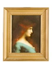 Jean-Jacques Henner (1829-1905)-attributed,