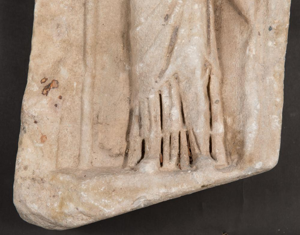 Hellenistic or Roman ancient marble relief