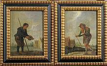 David Teniers (1610-1690)-studio, Pair of painting