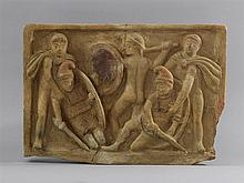 Terracotta relief in archaic manner, possibly Sici