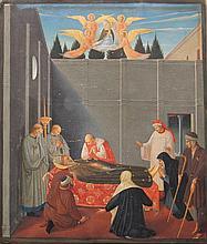 Jean Fouquet (1420-1481)-manner of, Illuminated bo