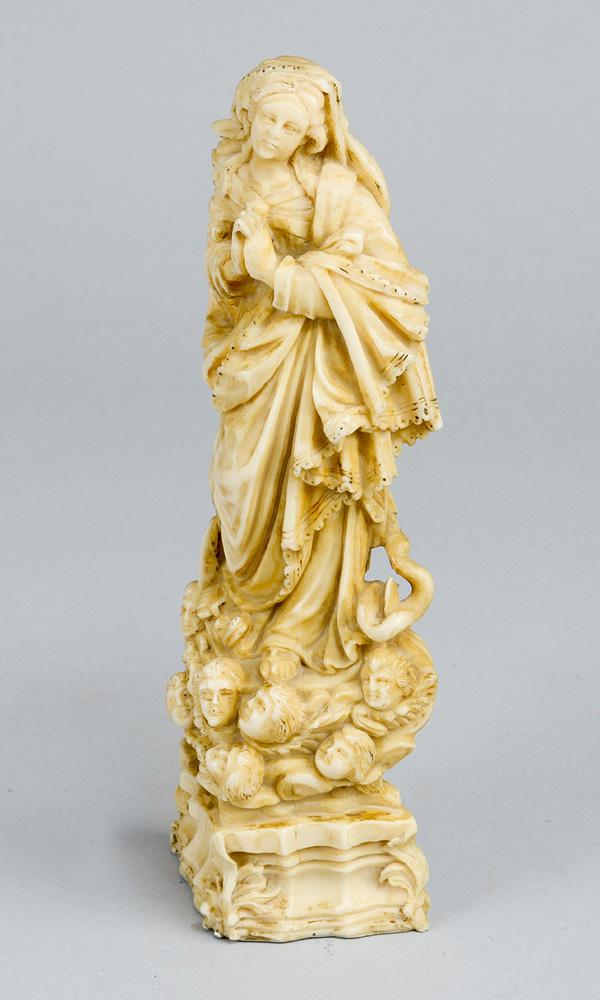 Indo Portugese Ivory Madonna