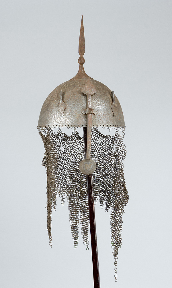 A Persian Warriors Iron Helmet