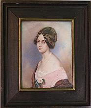 Karl von Saar (1797-1853), Miniature portrait of a