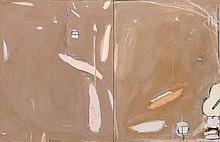 BRETT WHITELEY 1939 - 1992, SYDNEY WINTER, 1980, oil and mixed media on canvas