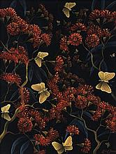 LIN ONUS 1948 - 1996, BUTTERFLIES, SHERBROOKE FOREST, c1994, synthetic polymer paint on compressed card