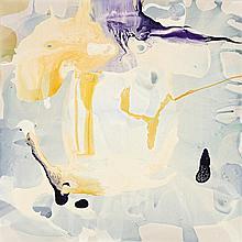 DALE FRANK born 1959, ALL OF IT LEFT HIM SWINGING SWAYING LIKE A GIANT BUG EYED GRASSHOPPER, 2009, varnish on canvas