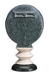 JOEL ELENBERG MASK, 1979 62.0 cm   heightmarble