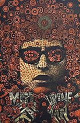 MARTIN SHARP MISTER TAMBOURINE MAN, 1967 74.5 x