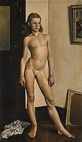 CHARLES MEERETHE YOUNG MODEL, 1941 56.0 x 32.0 cm