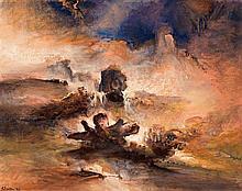 James Gleeson 1915 - 2008, IMPROMPTU NO. 3 - SUMMER, 1996 oil on canvas