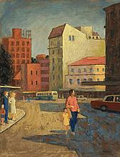 Roland Wakelin 1887 - 1971, MANLY, 1964 oil on canvas on board