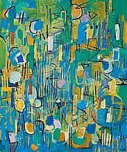 Yvonne Audette 1930, SUMMER MORNING, 1975-76 oil on composition board