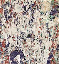 RALPH BALSON, (1890 - 1964), MATTER PAINTING, 1960, oil and enamel on composition board
