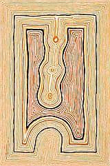 TJUMPO TJAPANANGKA Untitled, 2002 synthetic