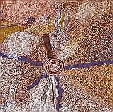 BILL WHISKEY TJAPALTJARRI Rockholes And Sandhills