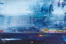 GEOFFREY DYER, LAKE REPULSE IN BLUE, 2014