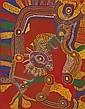 JIMMY BAKER Wanampi, 2007 synthetic polymer paint, Jimmy Baker, Click for value
