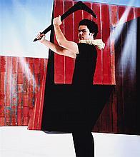 CHRISTIAN THOMPSON , born 1978, UNTITLED, EMOTIONAL STRIPTEASE (SELF PORTRAIT), 2003, type C photograph