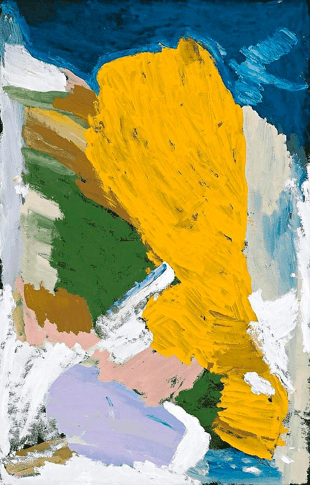 MILLY KELLY, born c1940, UNTITLED, 2009, synthetic polymer paint on linen