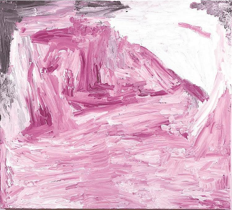 MIRDIDINGKINGATHI JUWARNDA SALLY GABORI, born c1924, THUNDI, 2008, synthetic polymer paint on linen